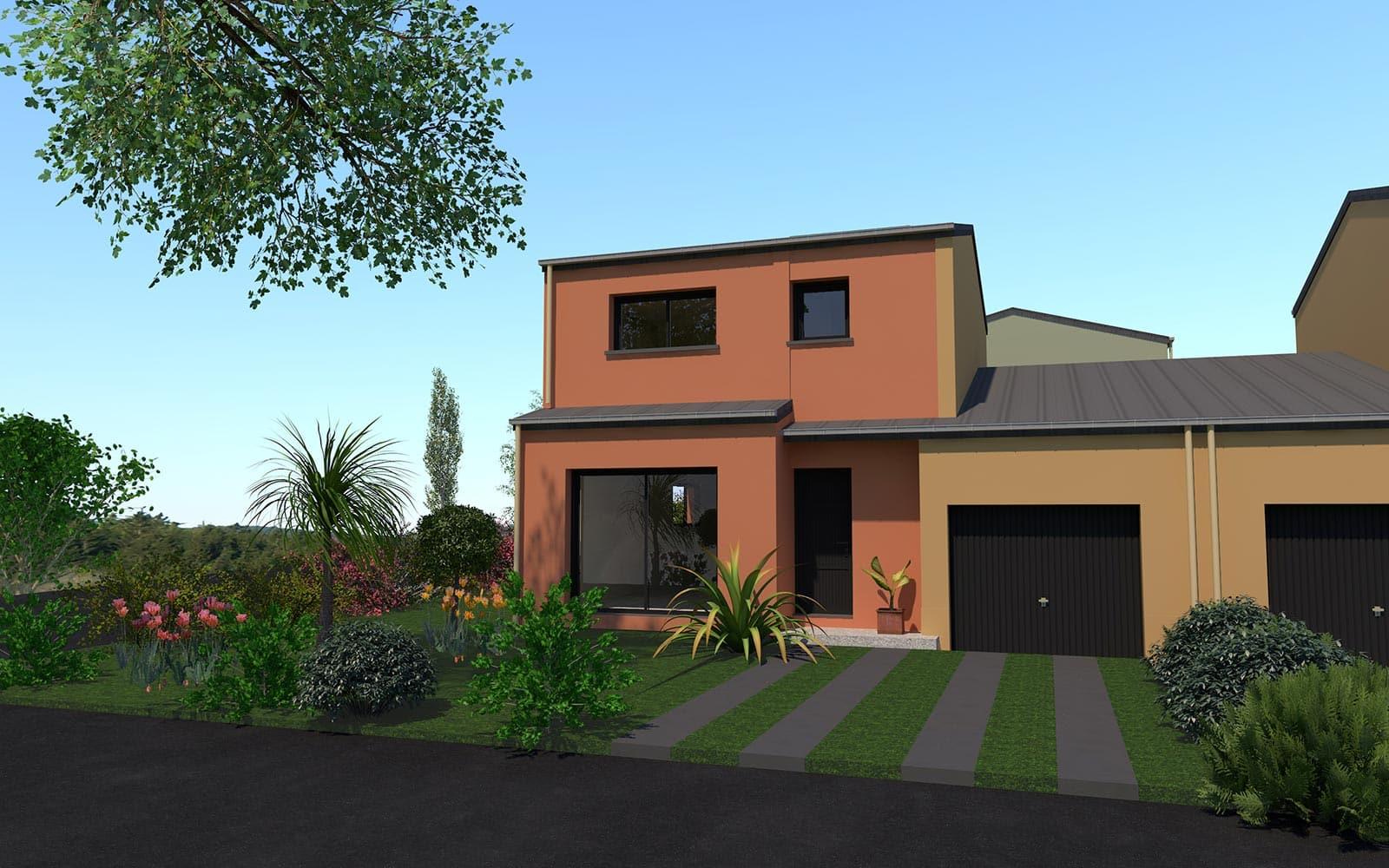 Programme de construction de maison à Saint Aubin d'Aubgné (35)