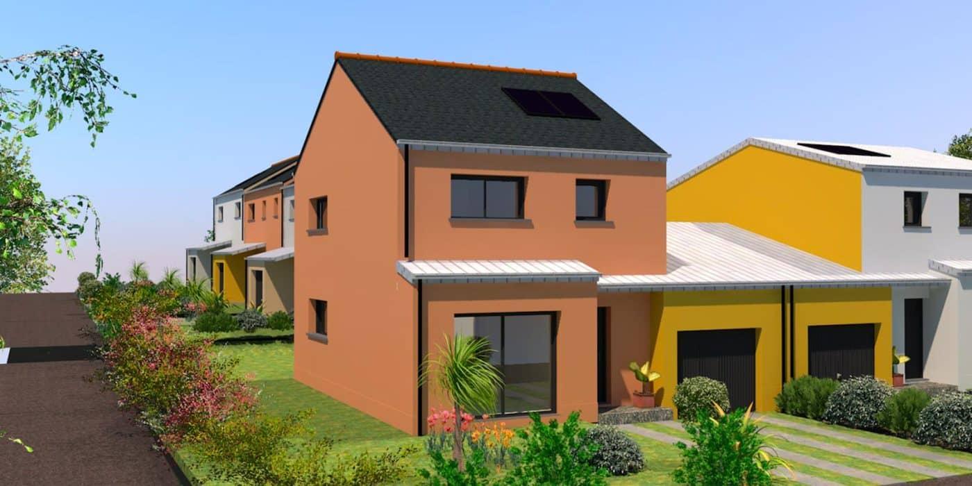 maison + jardin à Saint-Aubin-d'Aubigné