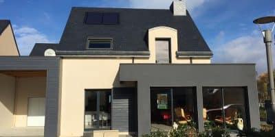 Maison moderne à Laillé (35)