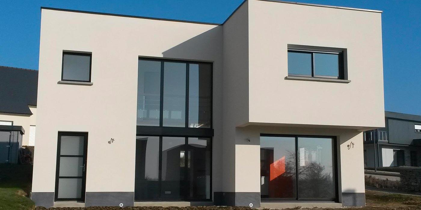 Maison moderne à Ossé (35)
