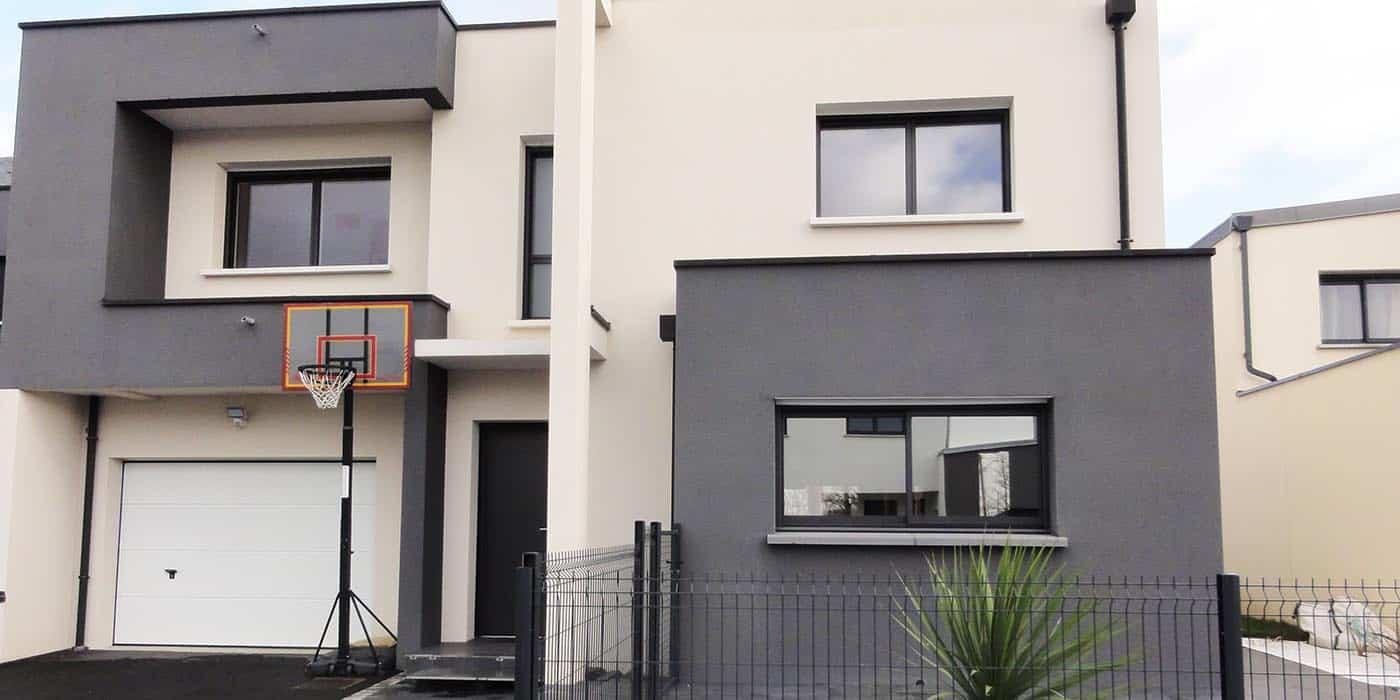 maison moderne à Pacé (35)