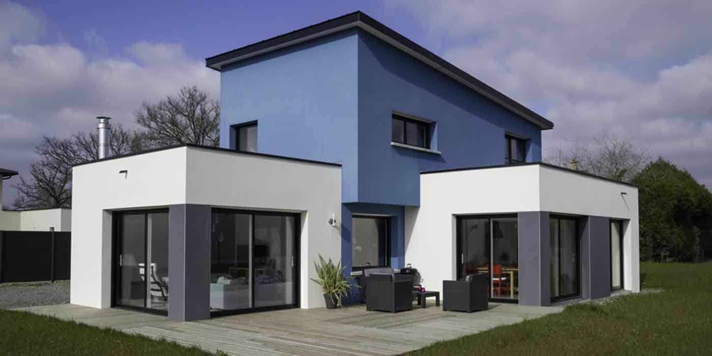 Une maison RT 2012 construite pas Maison Elian