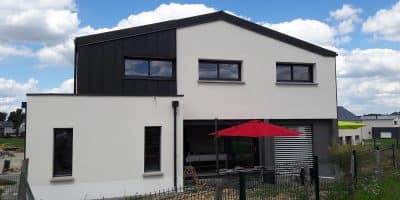 Maison moderne à Chateaugiron (35)