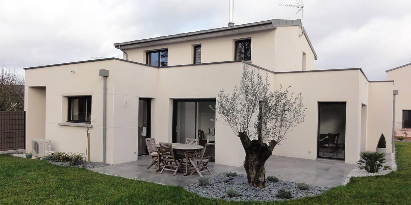 Constructeur de maison contemporaine à Rennes - Pacé (35)