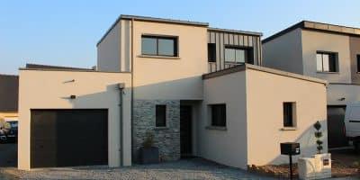 Maison monopente à Rennes (35)