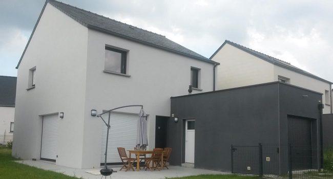 Construction de maison neuve à L'Hermitage (35) - témoignage