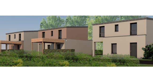 Vente de maison et terrain près de Rennes - Noyal Chatillon (35)
