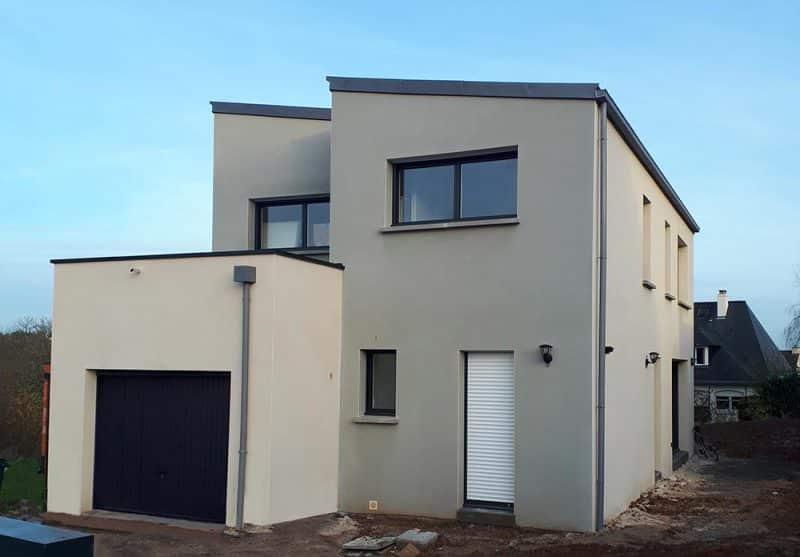 Construction de maison neuve à Guignen (35) - témoignage