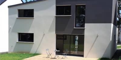 Maison monopente à Montfort-sur-Meu