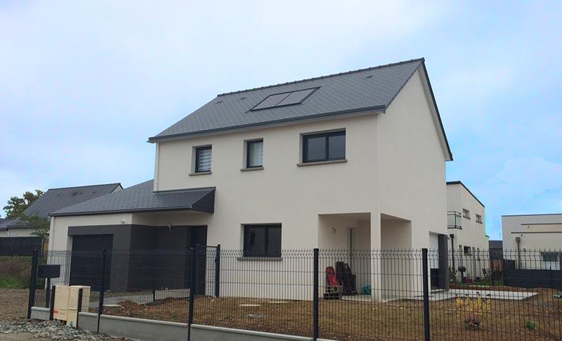 Maison moderne sur la commune de Thorigné-Fouillard
