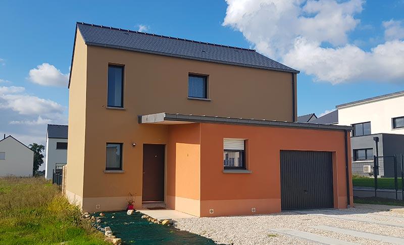 Construction d'une maison personnalisée à Saint-Aubin-d'Aubigné