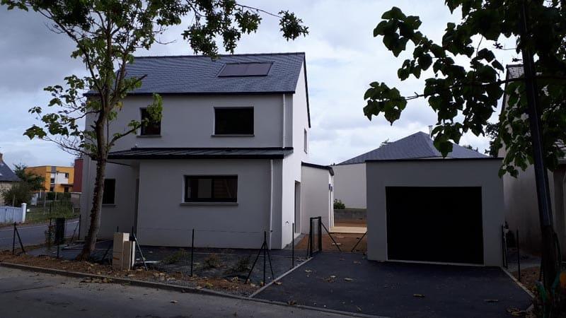 Construction d'une maison d'investisseur à Betton