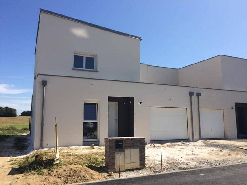 A Orgères, construction d'une maison personnalisée