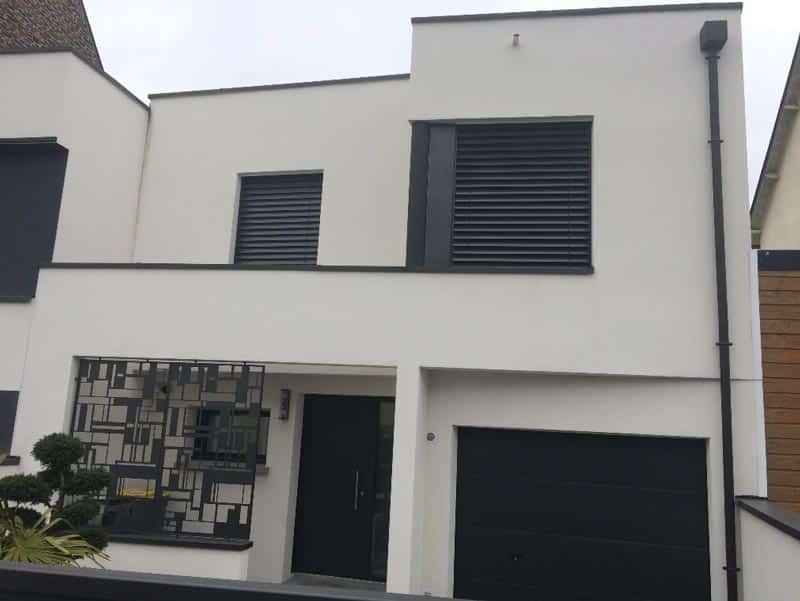 Construction d'une maison moderne à Rennes