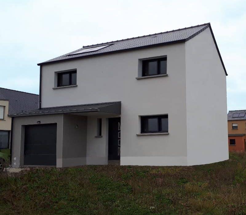 Construction d'une maison à Saint-Aubin-d'Aubigné
